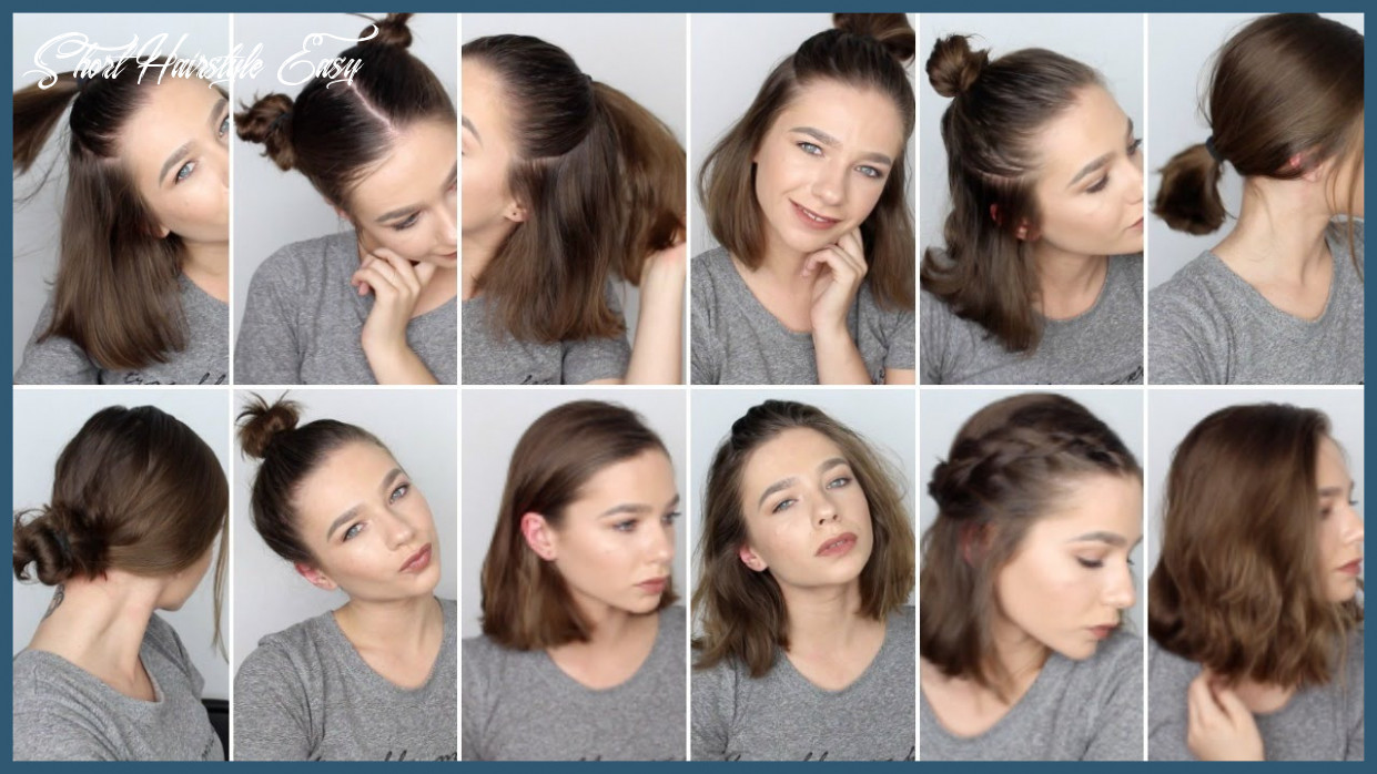 Hairstyles for shorthair 9 9 easy hairstyles for short hair