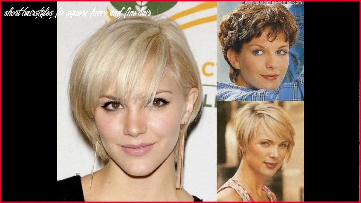 Hairstyles for square faces with thin hair 10 how to select