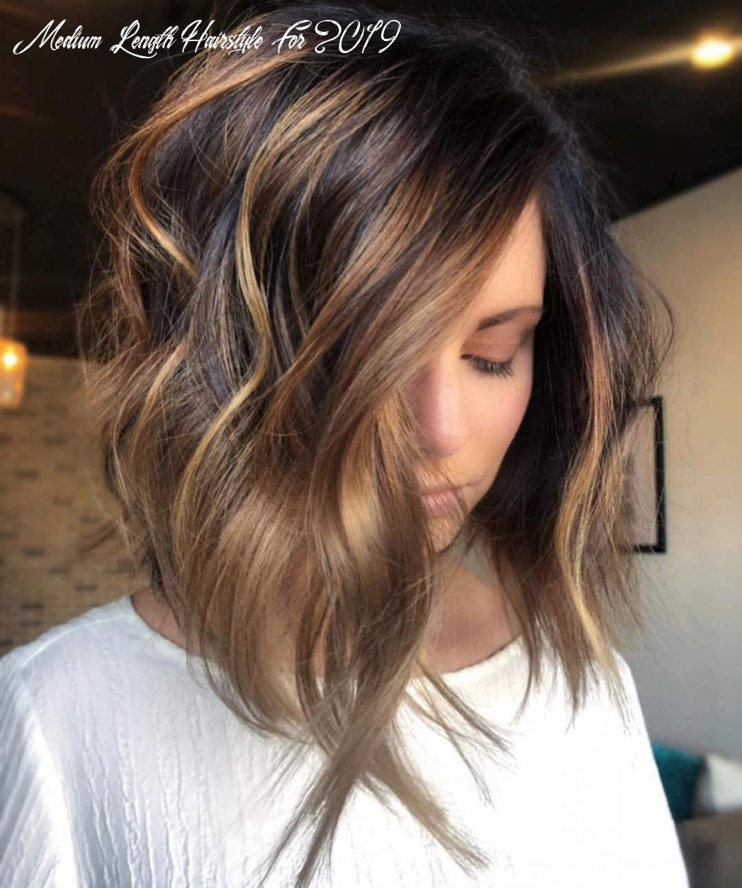 Hairstyles medium length 8 medium length hairstyle for 2019