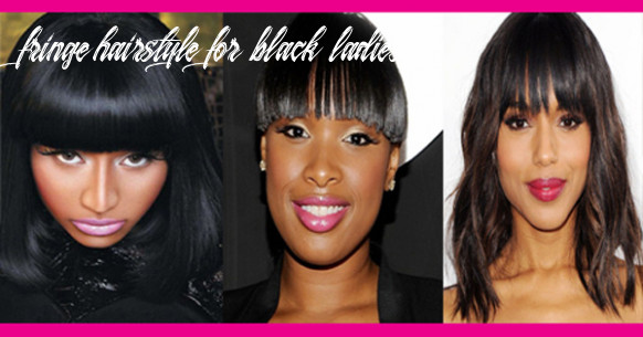 Hairstyles with fringe, bangs for black women – afroculture