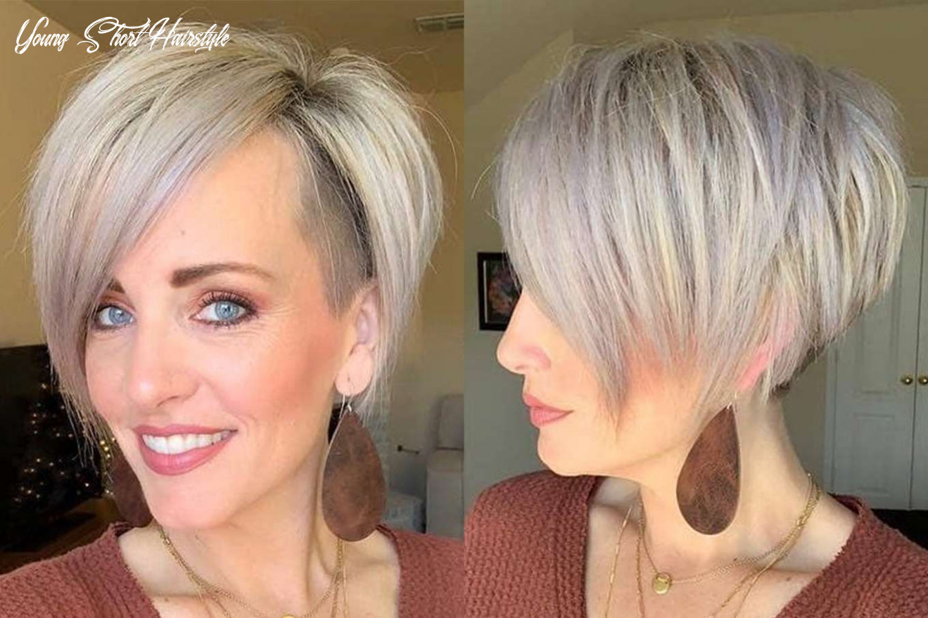 Haley young short hairstyles | short hair styles, short hair