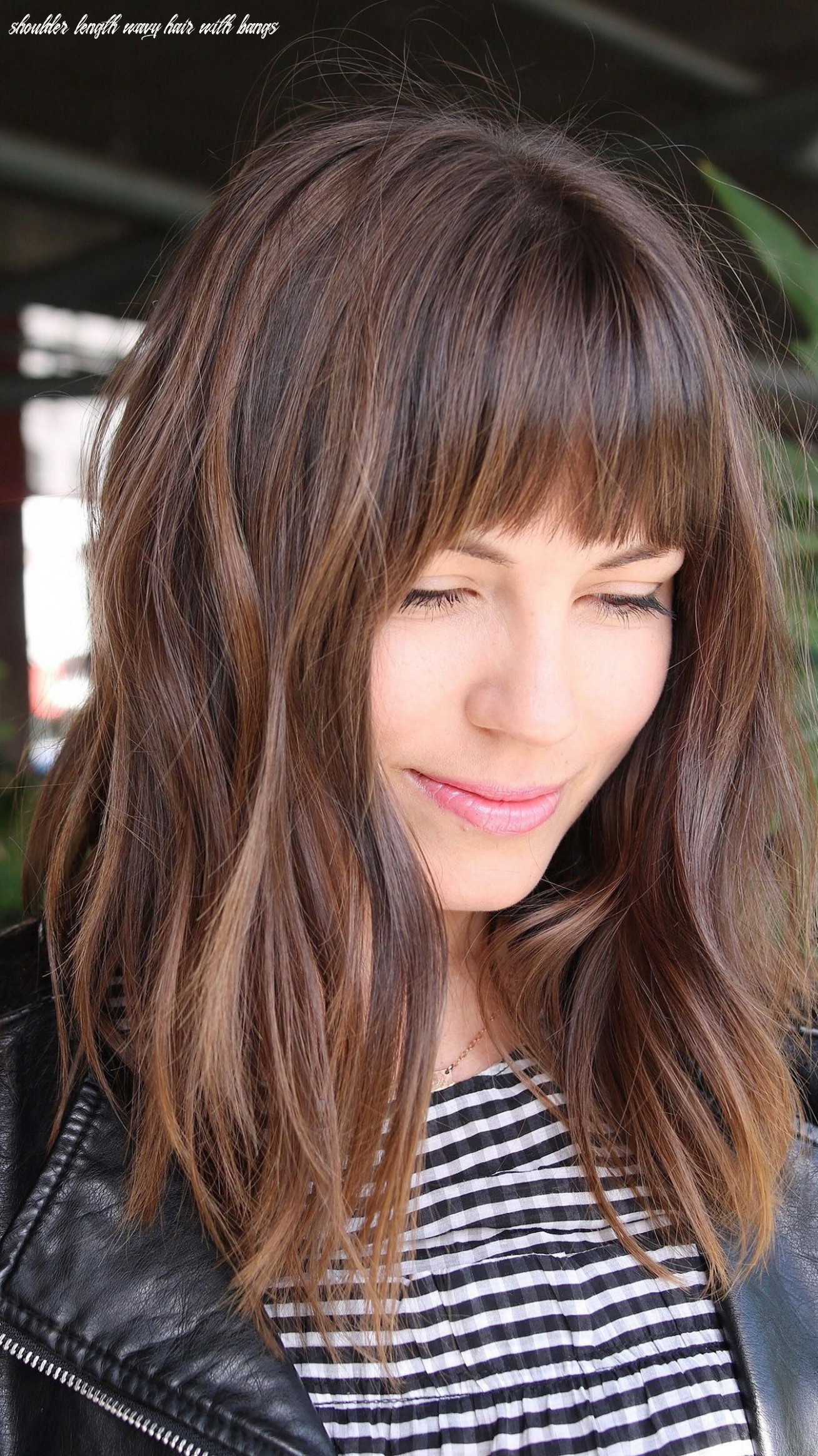 Half ponytail hairstyles with bangs 9 easy and chic half