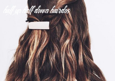 Half up, half down hair ideas that are perfect for lazy days half up half down hairdos