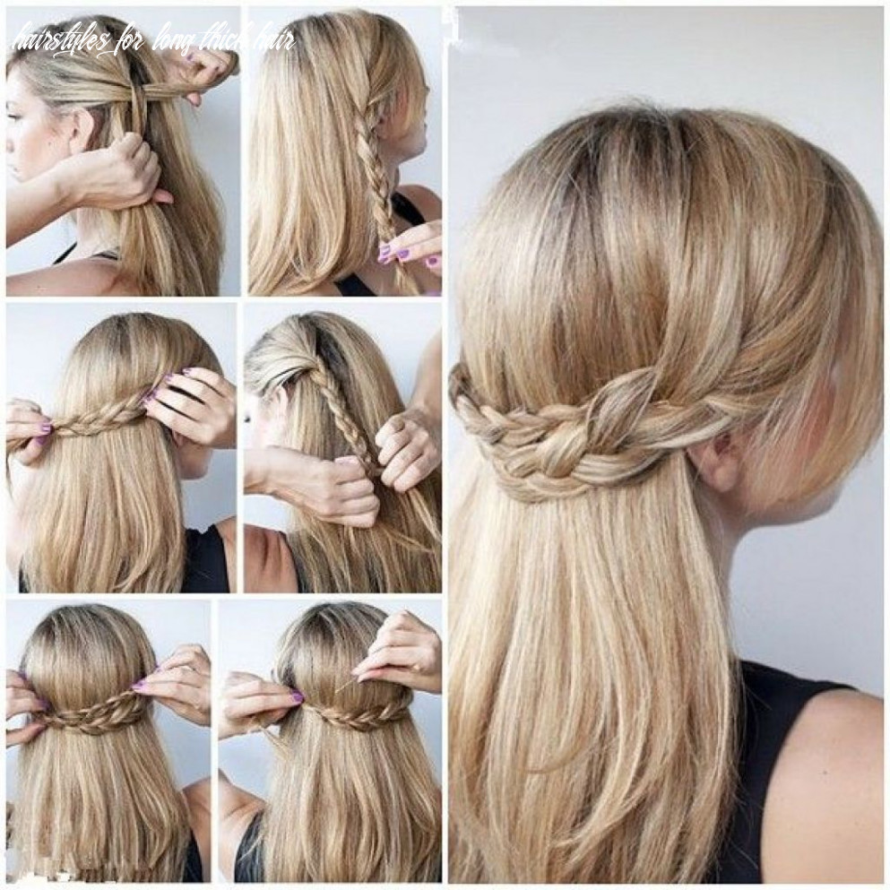 Half up half down hairstyles for long thick hair google search