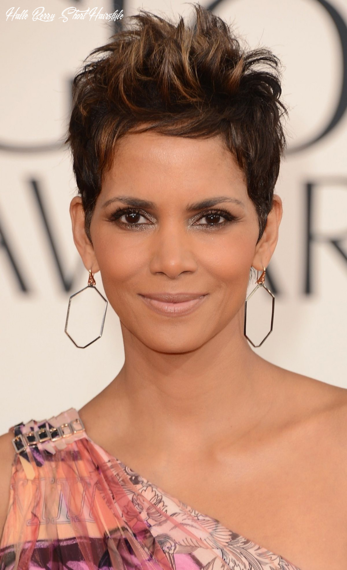 Halle berry | short hair highlights, halle berry hairstyles, short