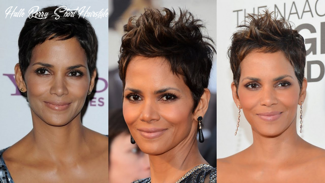 Halle berry short hairstyles halle berry short hairstyle