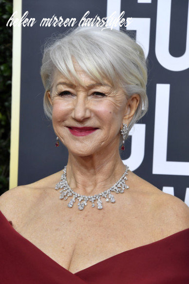 Helen mirren short hairstyles looks stylebistro helen mirren hairstyles