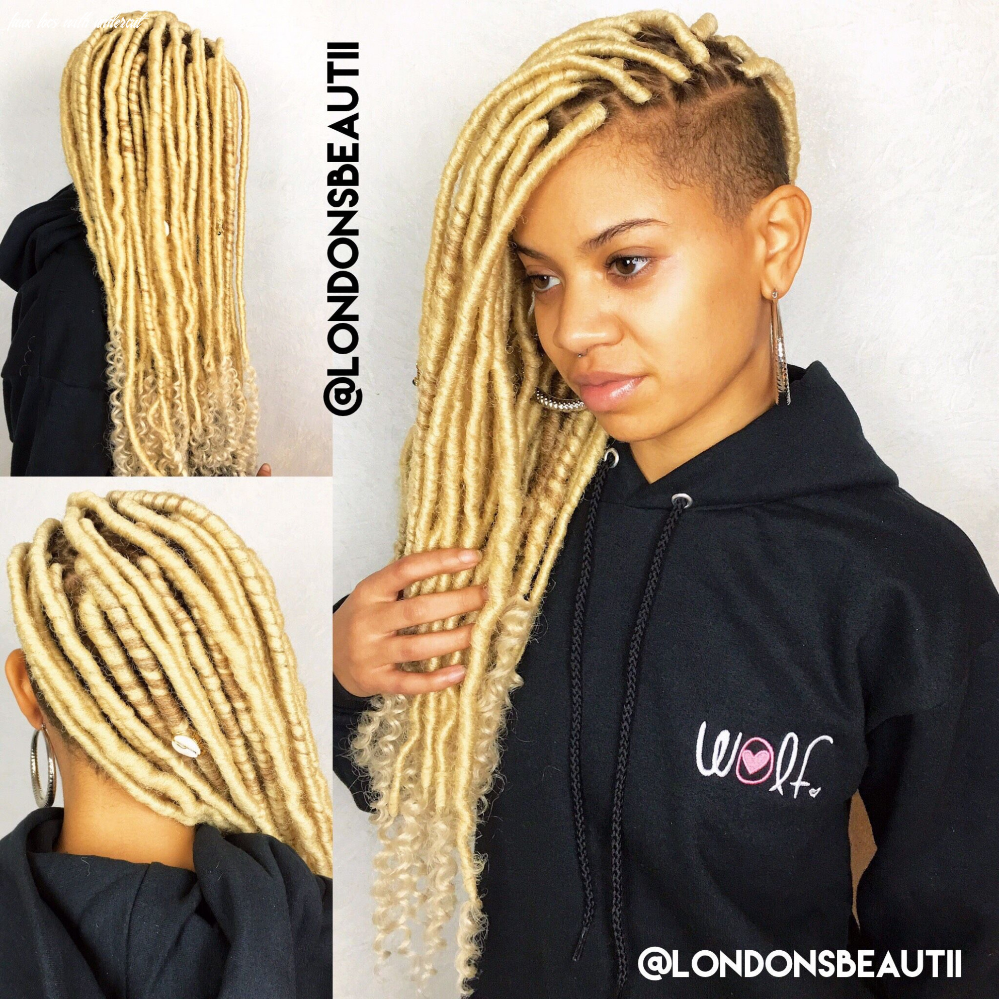 Here's How You Can Install Super Long Goddess Faux Locs On Any ...