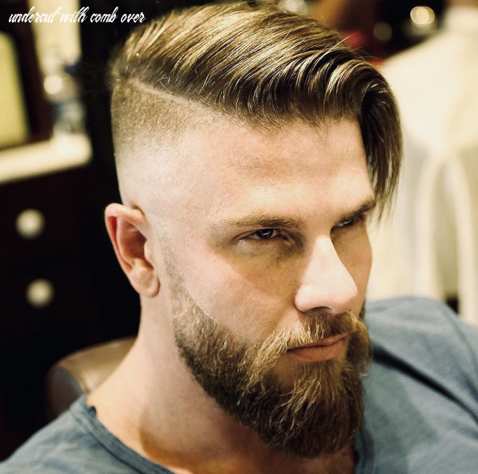 High rise skin, fade to 9 9, hard part | mens hairstyles undercut