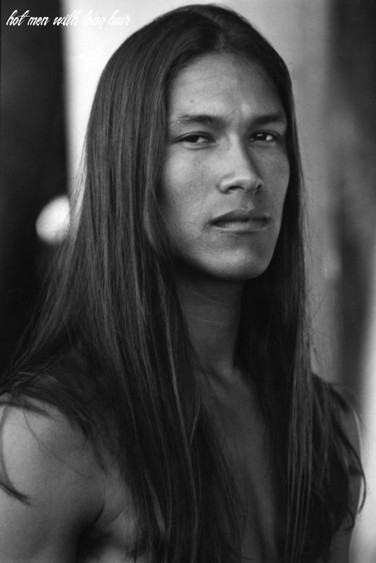Hot native men with long hair bombard my dreams like rick mora