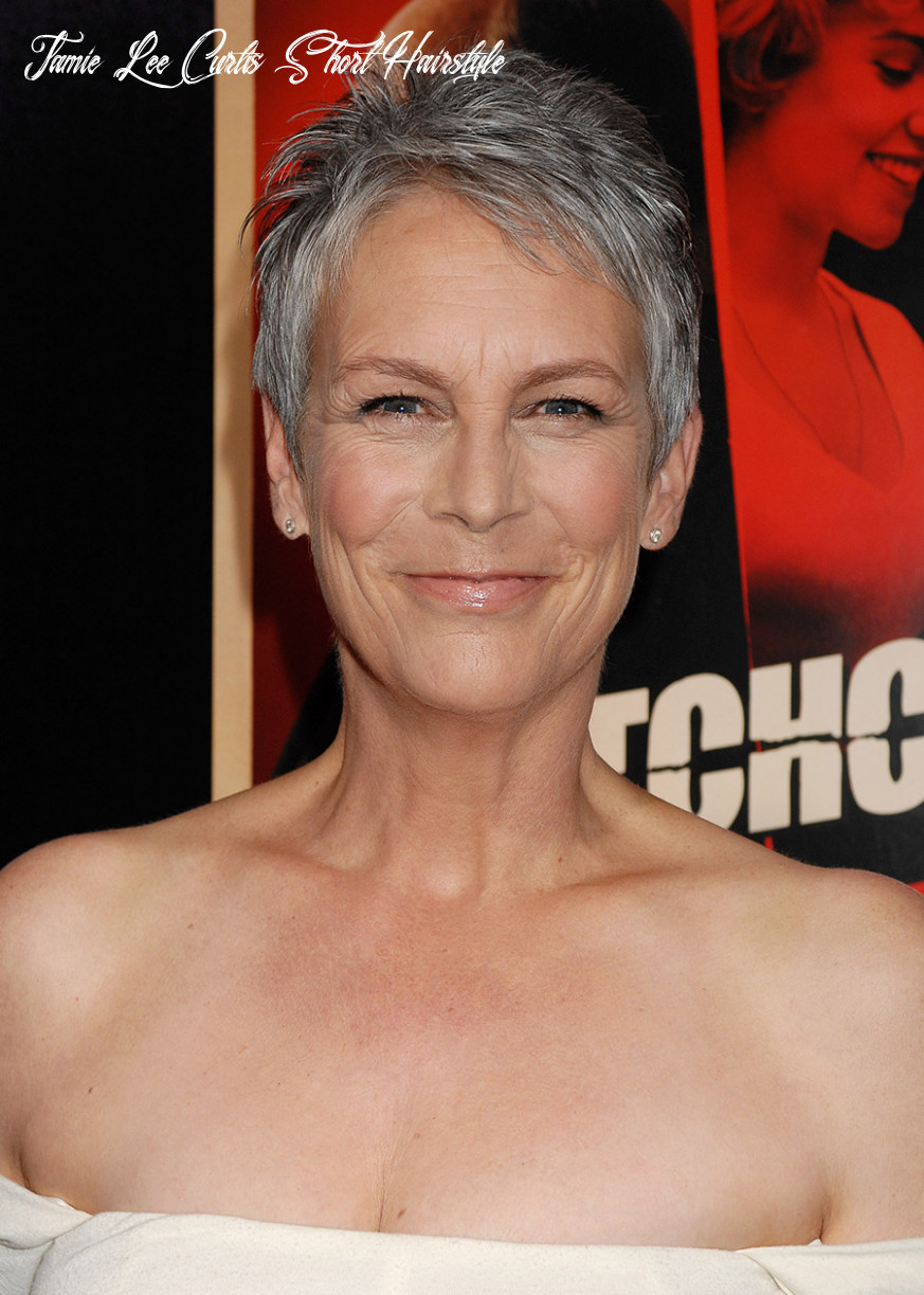 How jamie lee curtis rocks the magic of short hair for women over