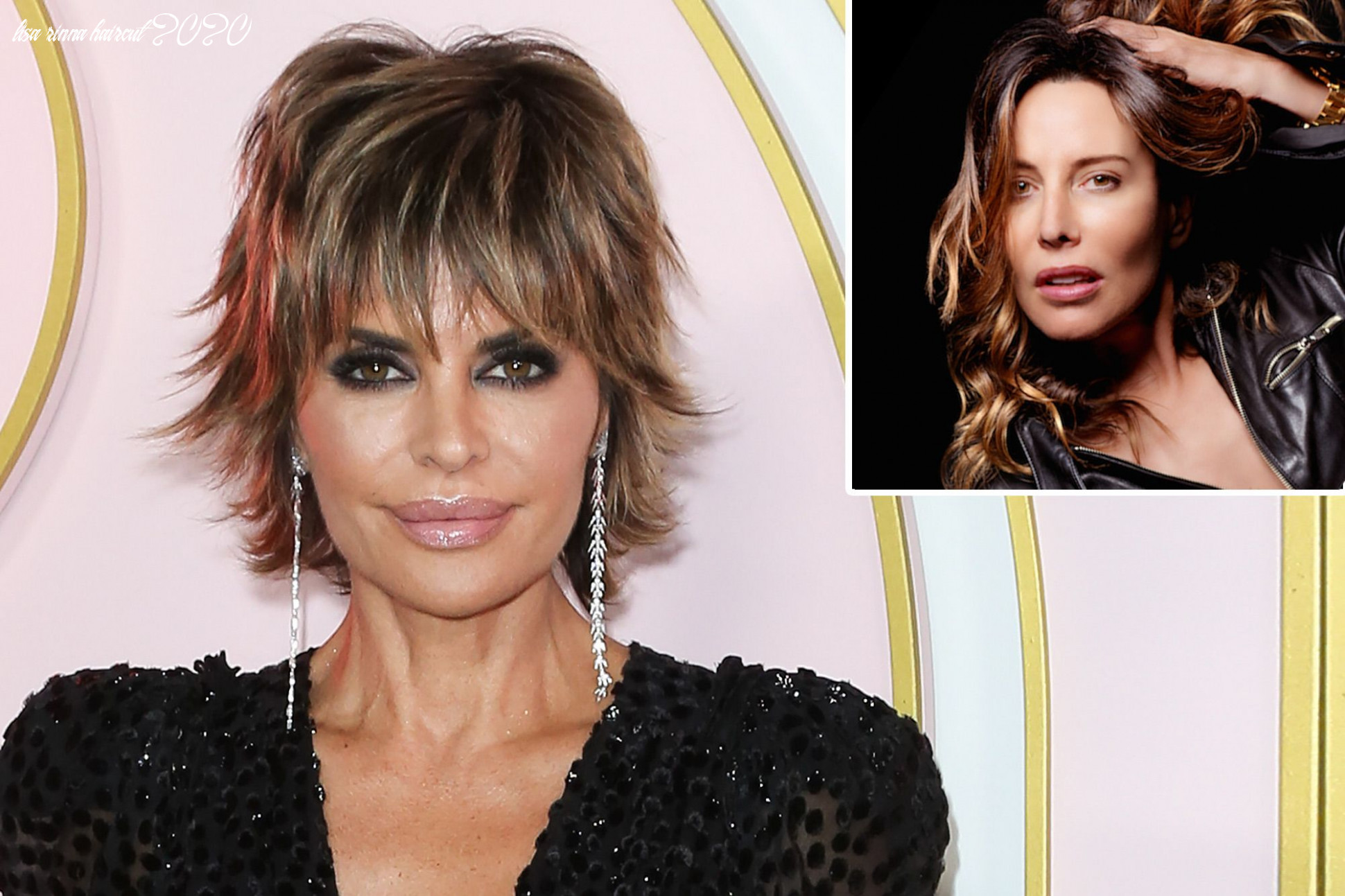 How lisa rinna is switching up her signature hair look lisa rinna haircut 2020