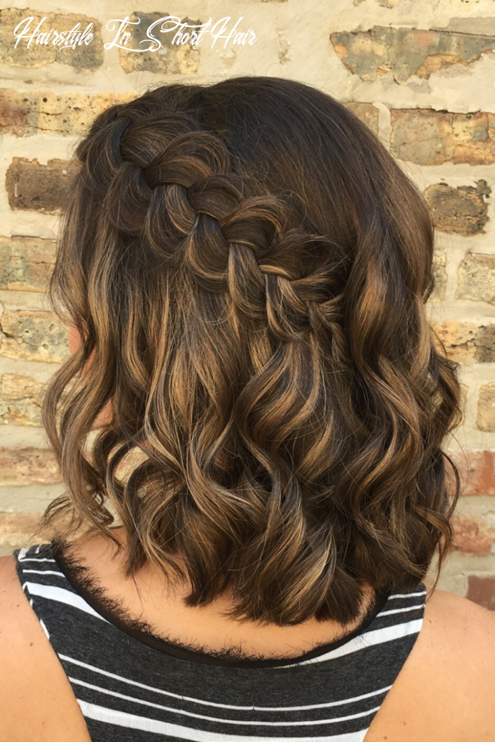 how perfect is this simple + elegant braided hairstyle?   hair by ...