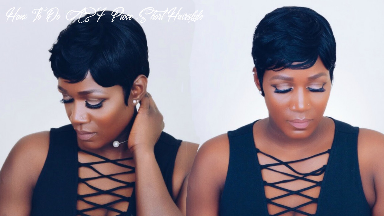 How to | 8 piece quick weave in 8 hour |beginner friendly how to do a 27 piece short hairstyle