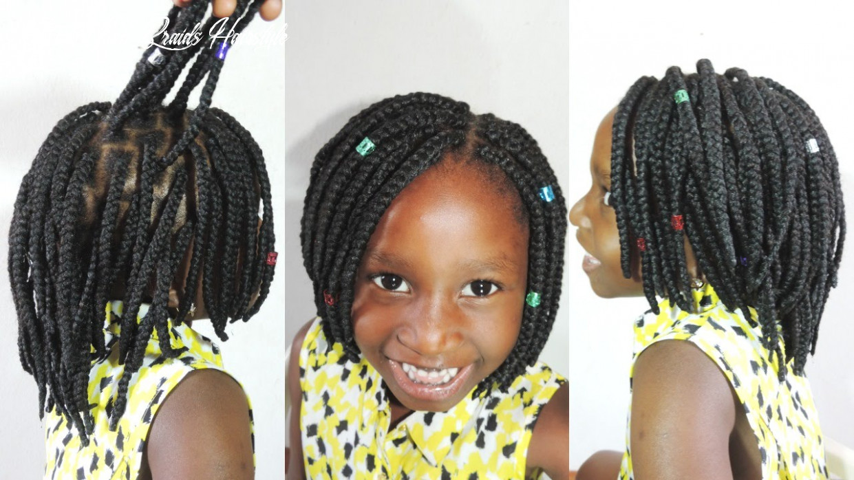 How to braid a bob braid with brazilian yarn short yarn braids hairstyle