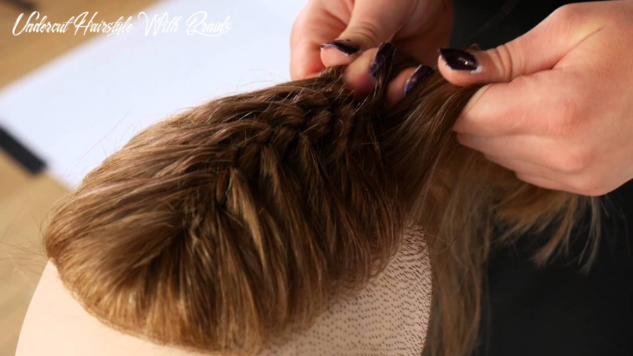 How to braid an undercut thesalonguy undercut hairstyle with braids