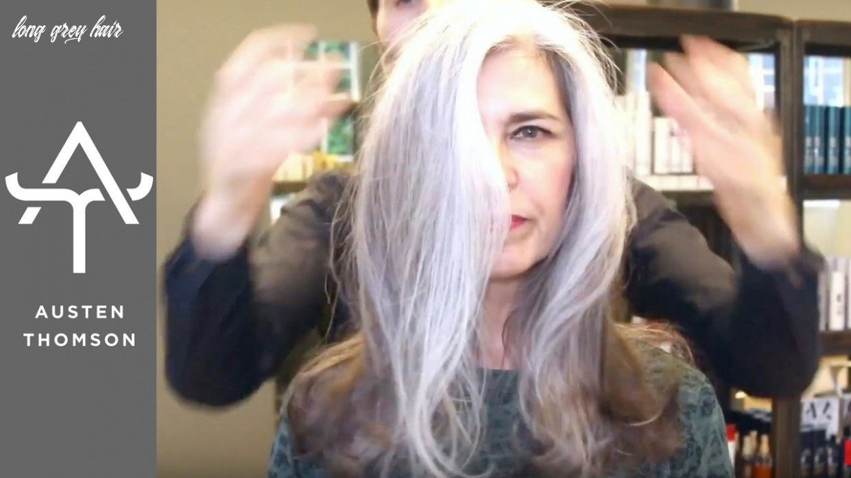HOW TO BRIGHTEN NATURAL SILVER HAIR - GOING GREY