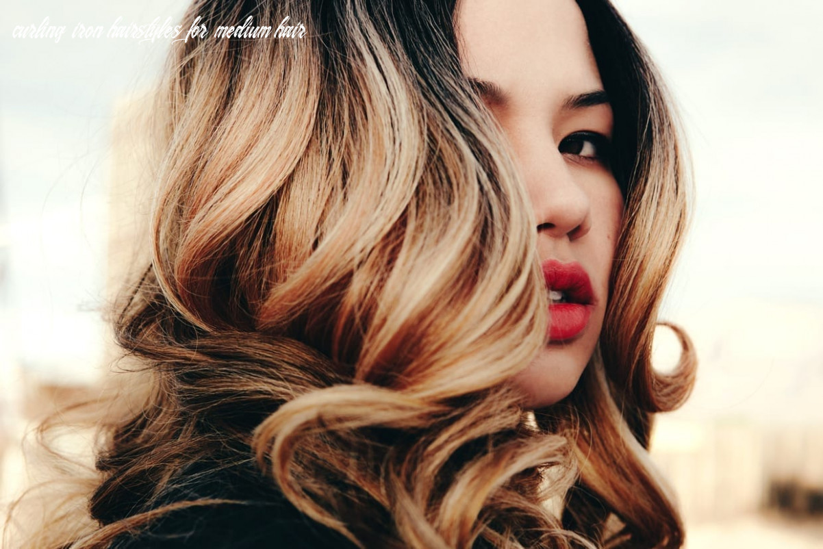 How to choose the right curling iron size | sunday edit curling iron hairstyles for medium hair