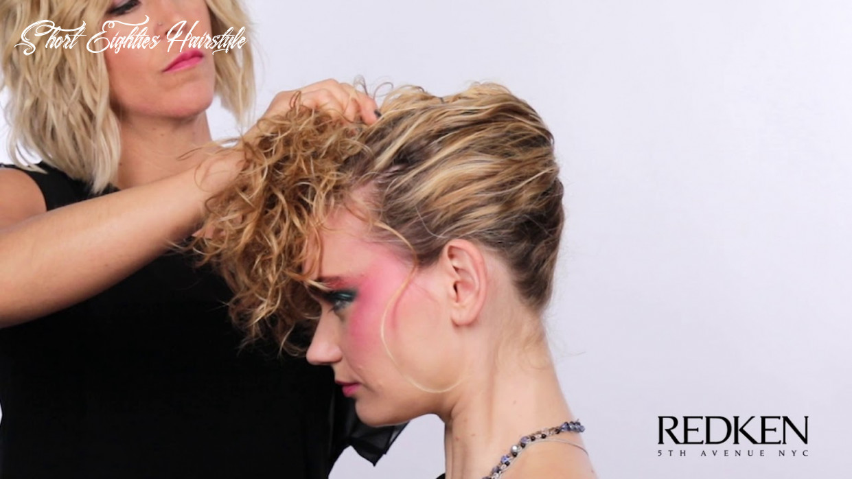 How To Create A 9's Pop Star Hairstyle for Halloween