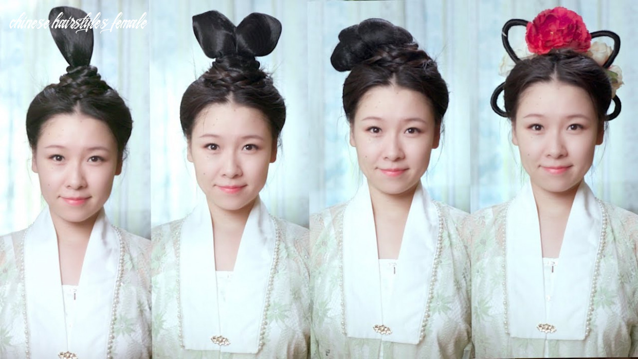 How to create ancient chinese hairstyles chinese hairstyles female