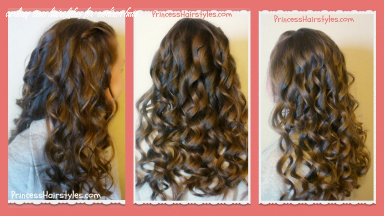 How to create beautiful curling wand curls curling iron hairstyles for medium hair