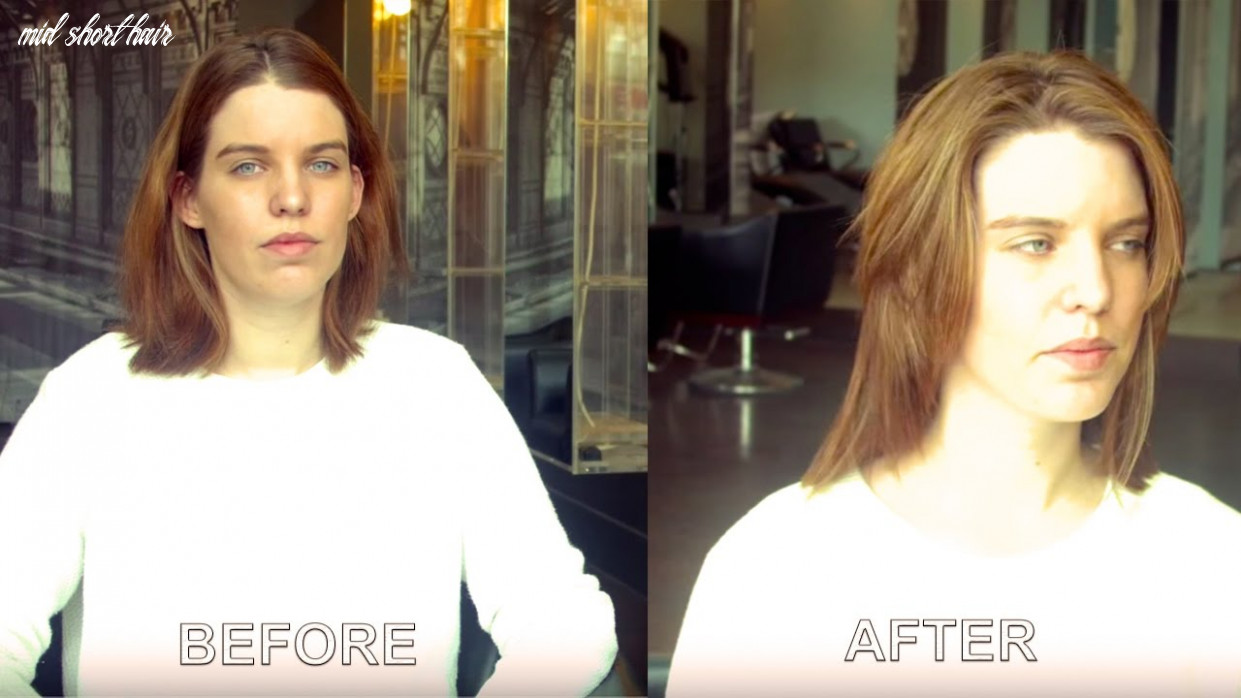 How to create short functional layers in mid length hair (inspired by actress liv tyler) mid short hair