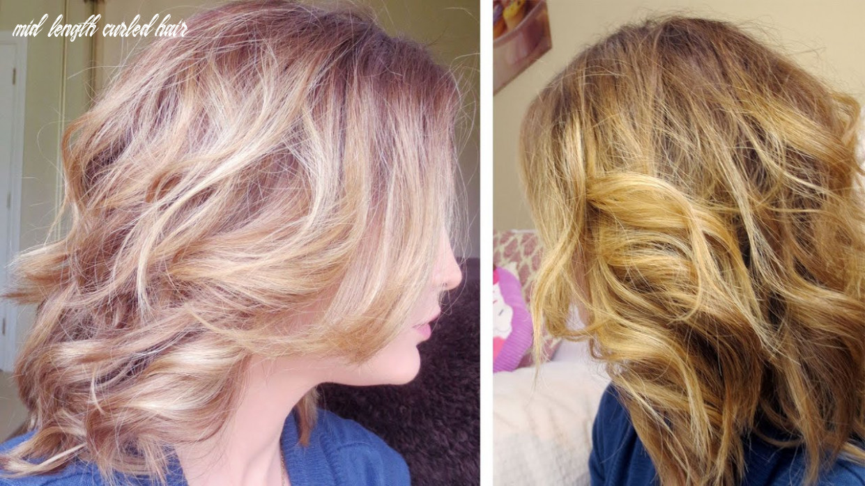 HOW TO CURL MID LENGTH HAIR!
