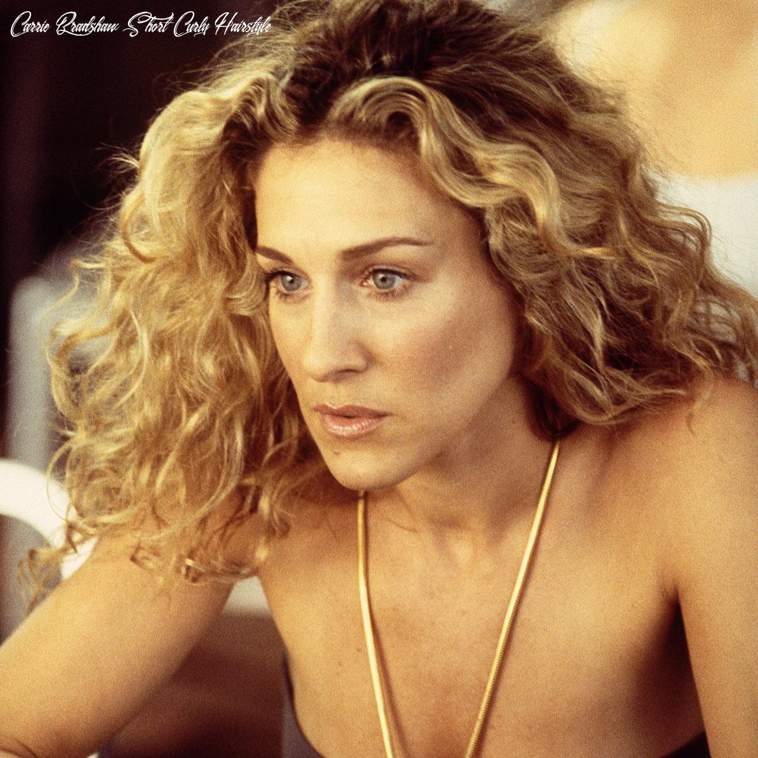 How to curl your hair fast   popsugar beauty carrie bradshaw short curly hairstyle
