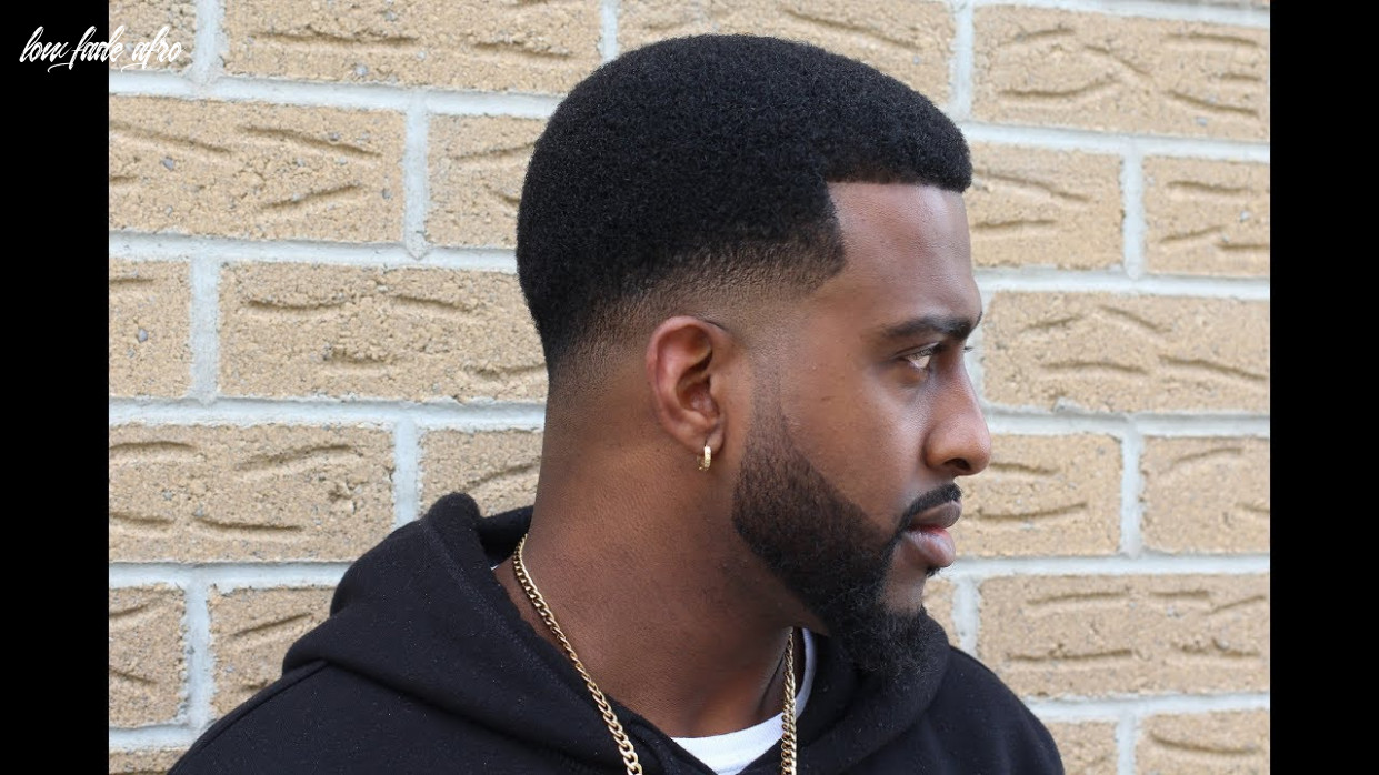 How to cut a low bald fade with afro | @barberjdub low fade afro