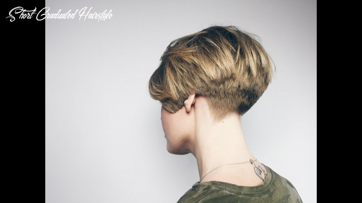 How to cut classic short graduation short graduated hairstyle