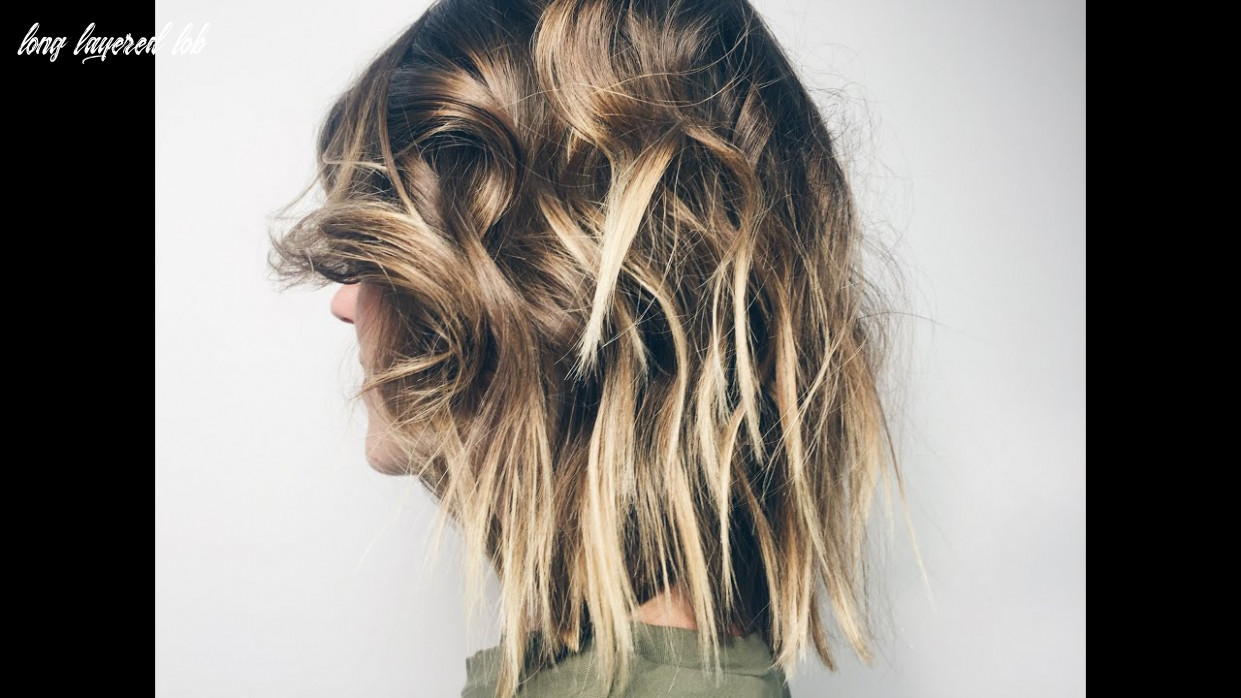 How to cut lob with layers long layered lob