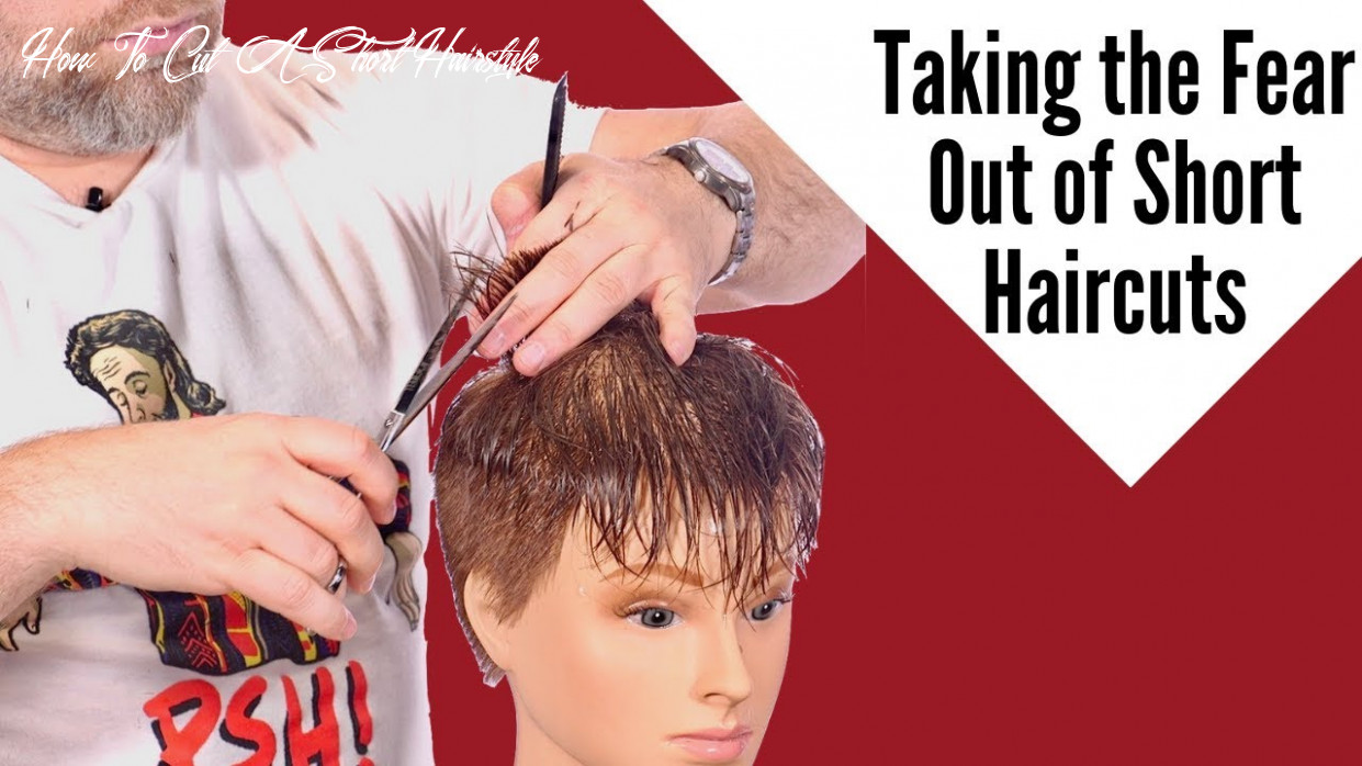 How to cut short hair thesalonguy how to cut a short hairstyle