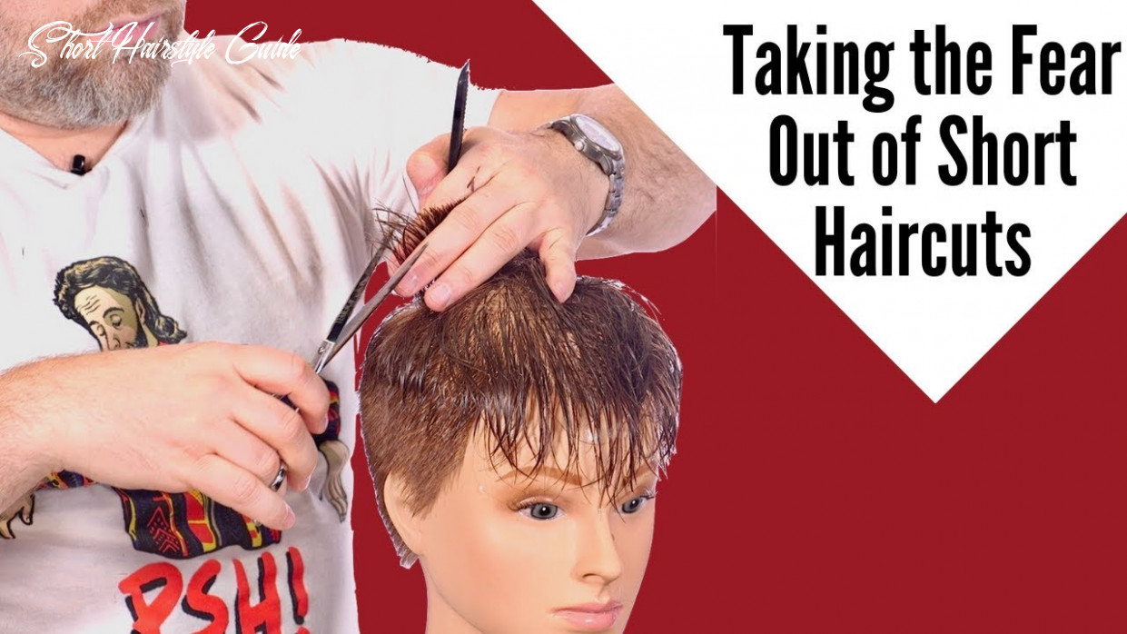 How to Cut Short Hair - TheSalonGuy