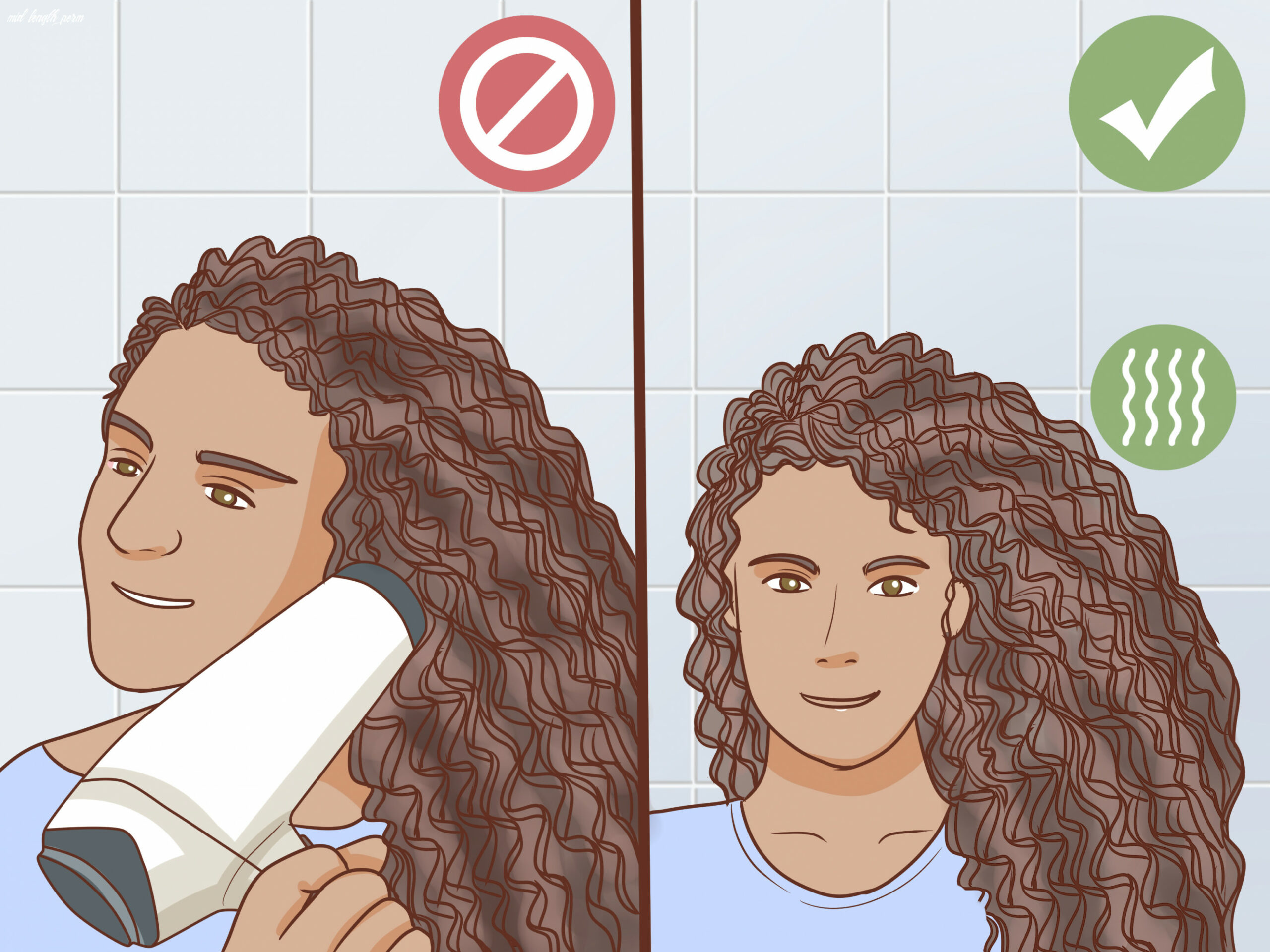 How to do a spiral perm (with pictures) wikihow mid length perm