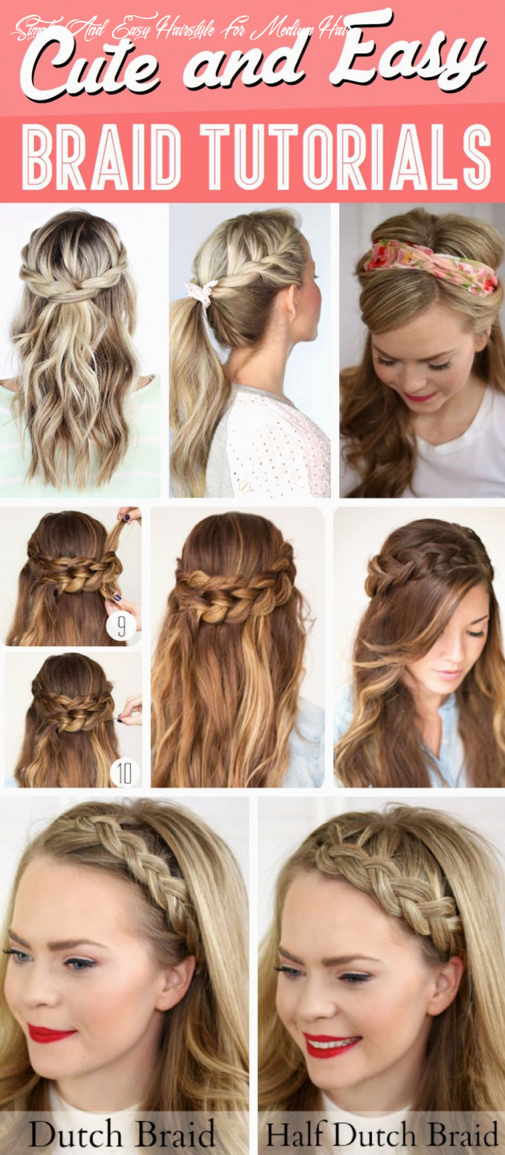 How to do simple hairstyles by yourself fresh cute simple