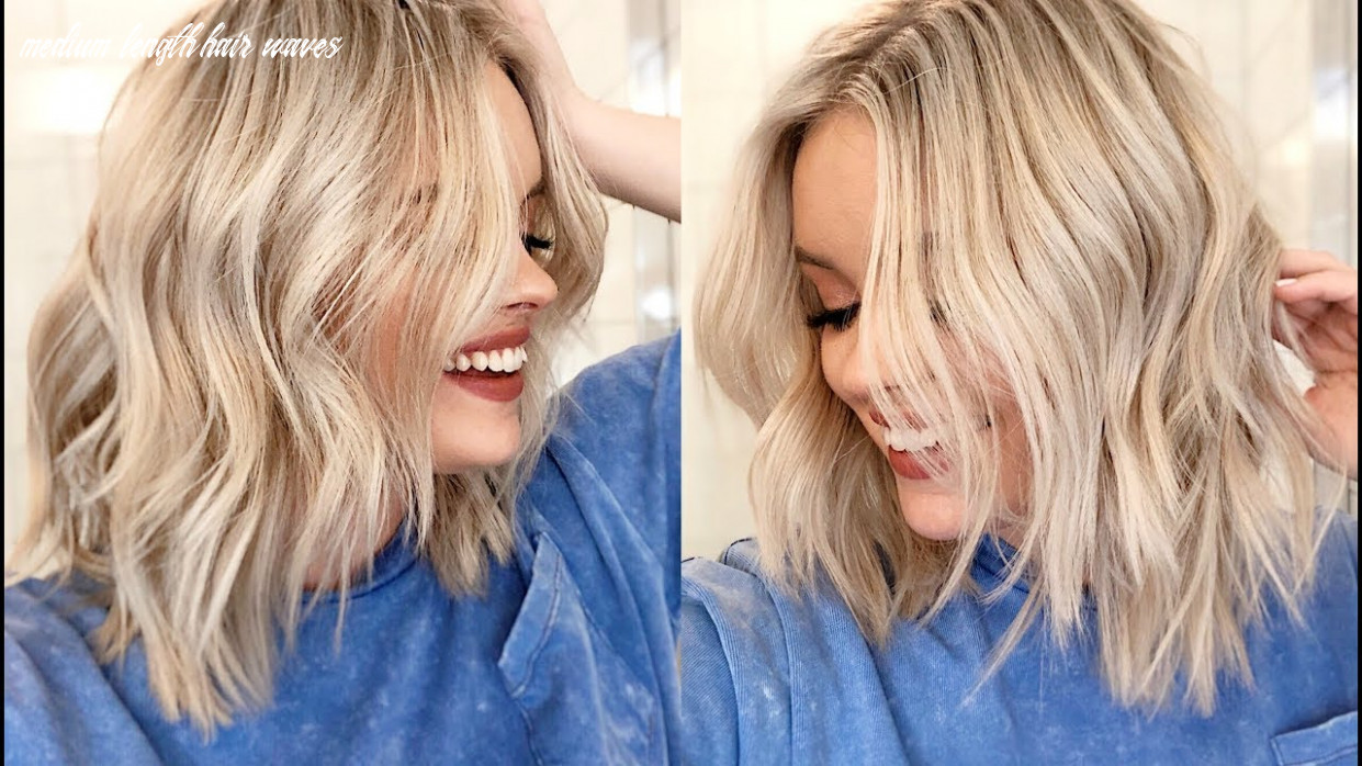 How to easy waves tutorial short to medium length hair medium length hair waves