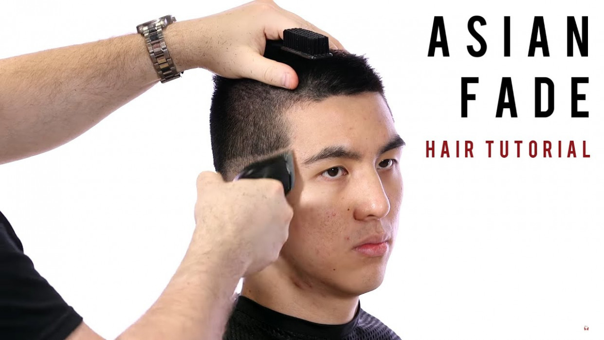 How to fade asian hair thesalonguy crew cut asian