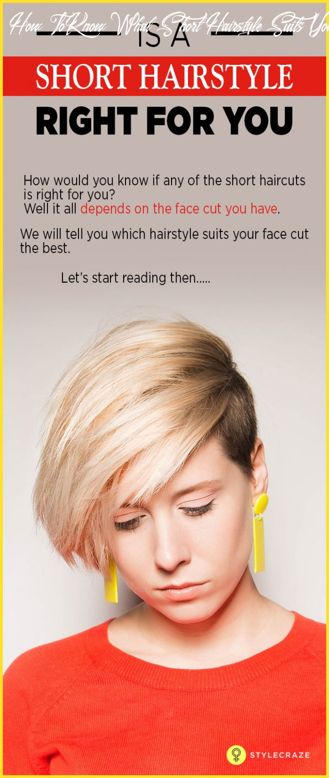 How to figure out if short hair will suit you | short hair styles