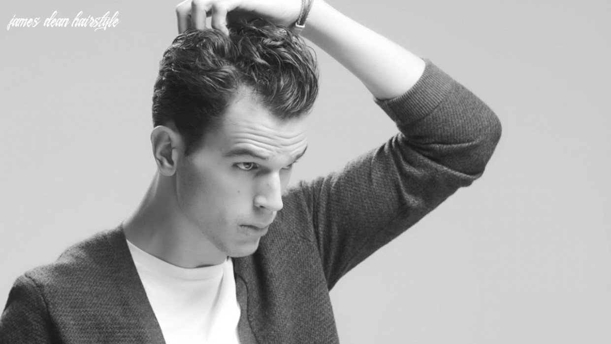 How to get a modern James Dean hairstyle for men