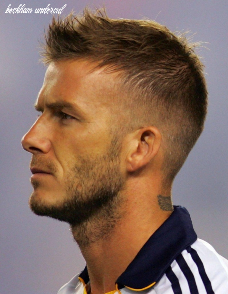 How to get david beckhams undercut haircut 12 david beckham