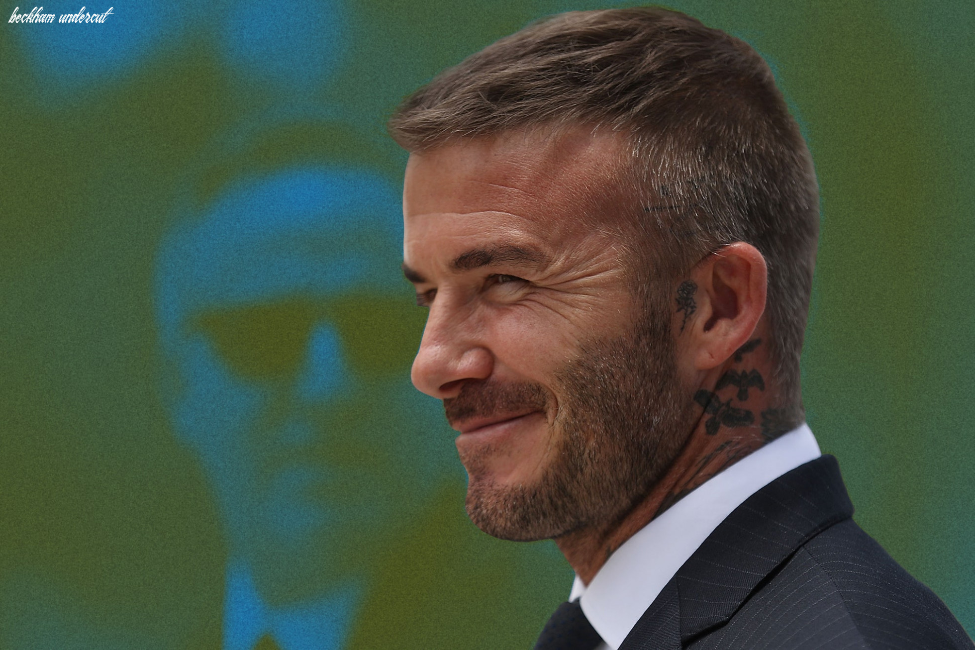 How to get every david beckham haircut | gq beckham undercut