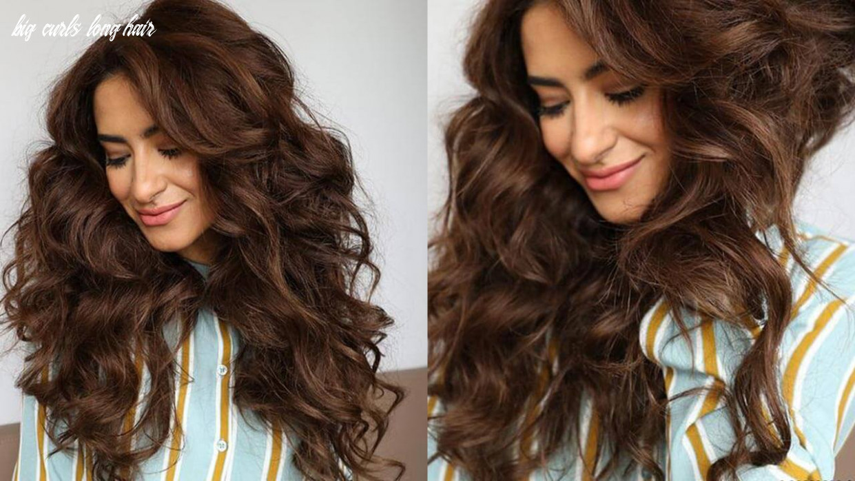 How to get more volume in your hair, naturally big curls long hair