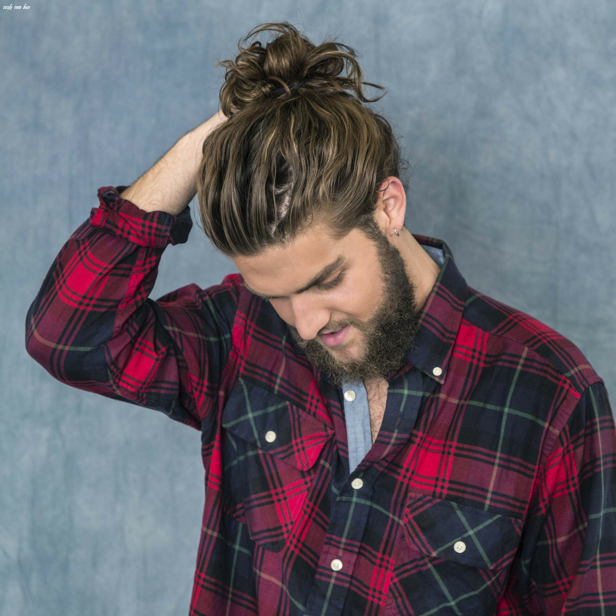 How to Grow a Man Bun in 12 Steps | Men's Hairstyle Guide