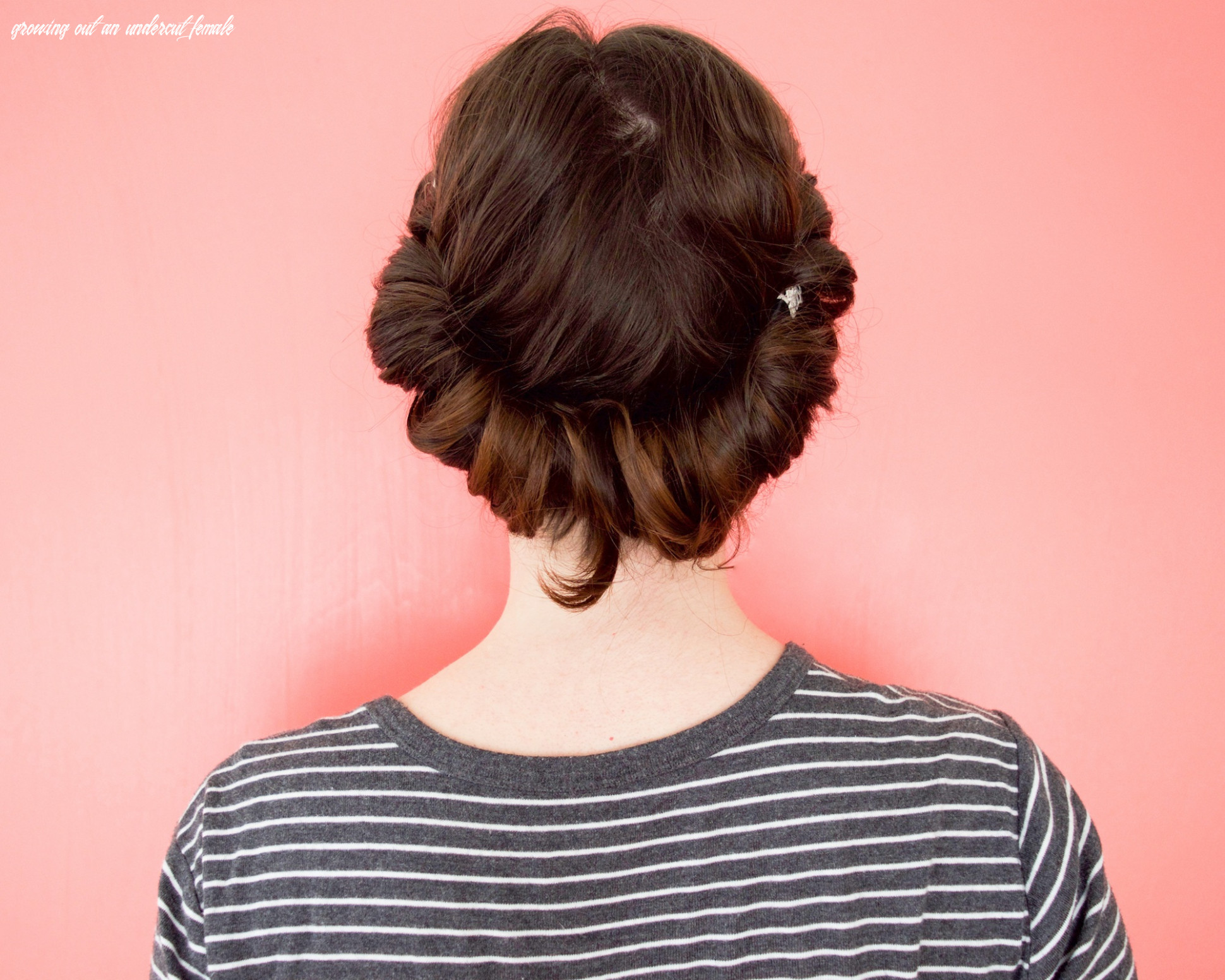 How to grow out an undercut   all things hair us growing out an undercut female