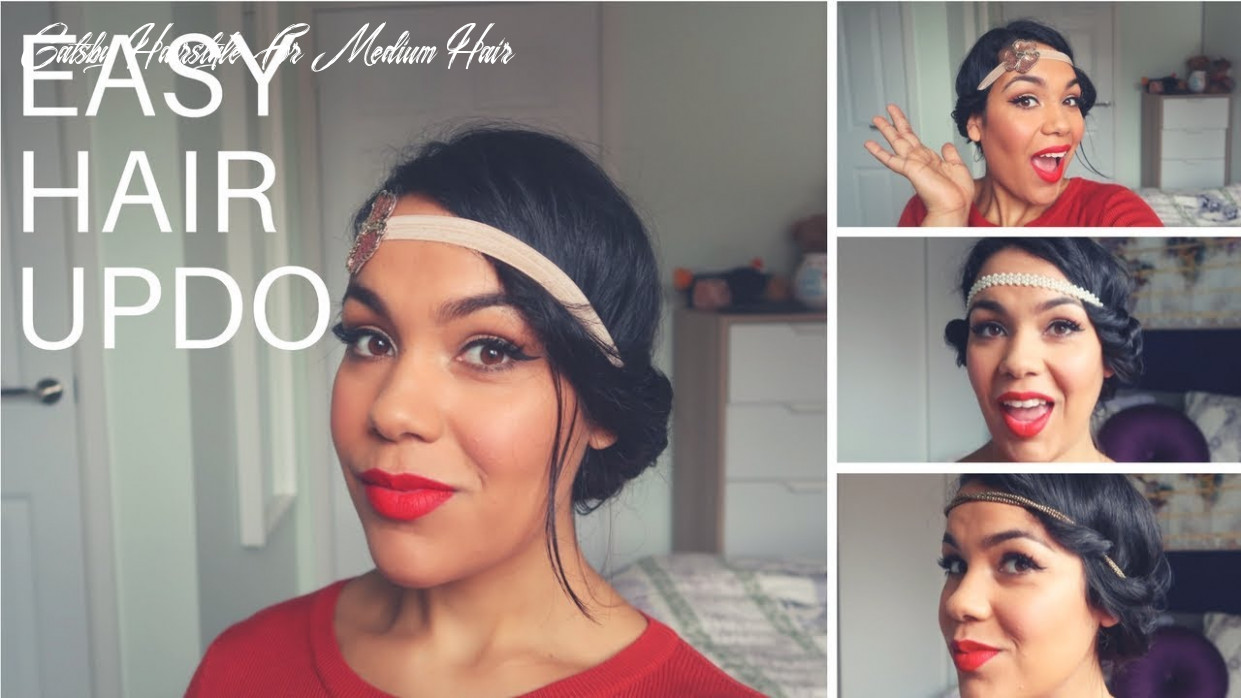 How to: heatless party/gatsby hairstyles tutorial medium hair gatsby hairstyle for medium hair