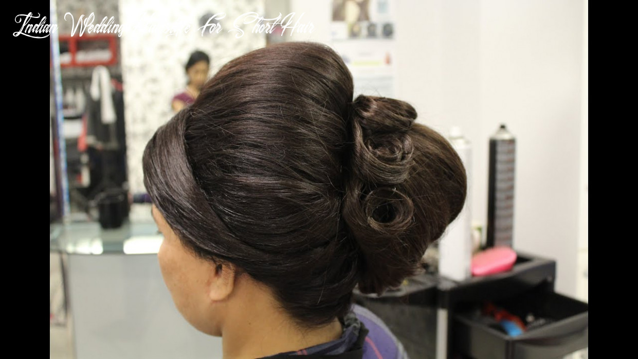 How to: indian bridal hairstyles for short hair indian wedding hairstyle for short hair