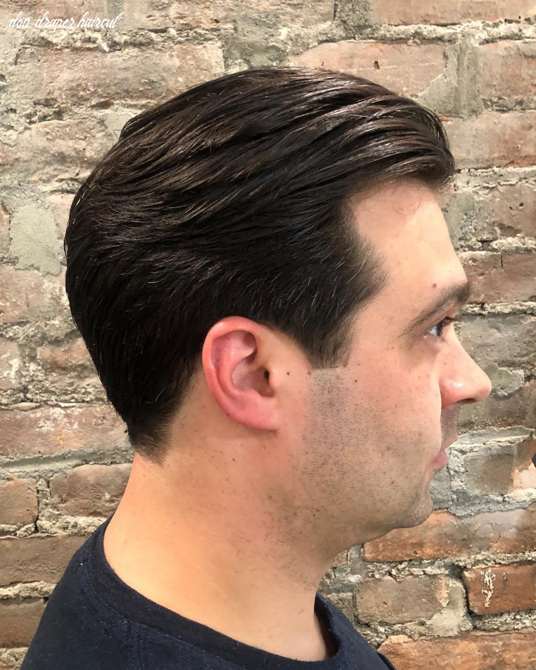 How to look like don draper in mad men don draper haircut
