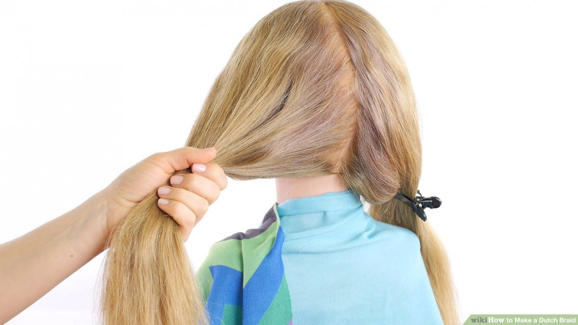 How to make a dutch braid (with pictures) wikihow dutch braid short hair