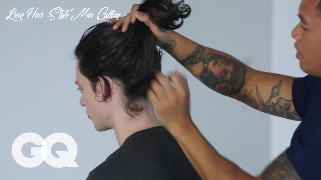 How to make the most of long hair best hairstyles for men details magazine long hair style man cutting