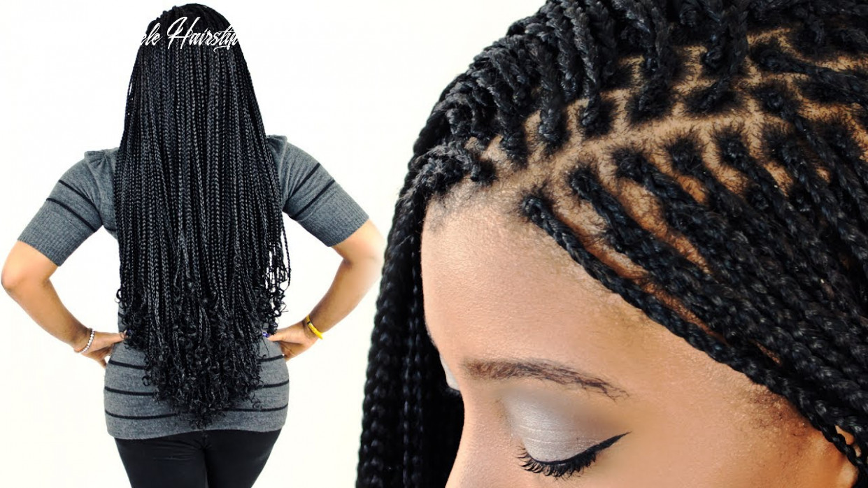 How to: micro braids for beginners! (step by step) short pelepele hairstyle